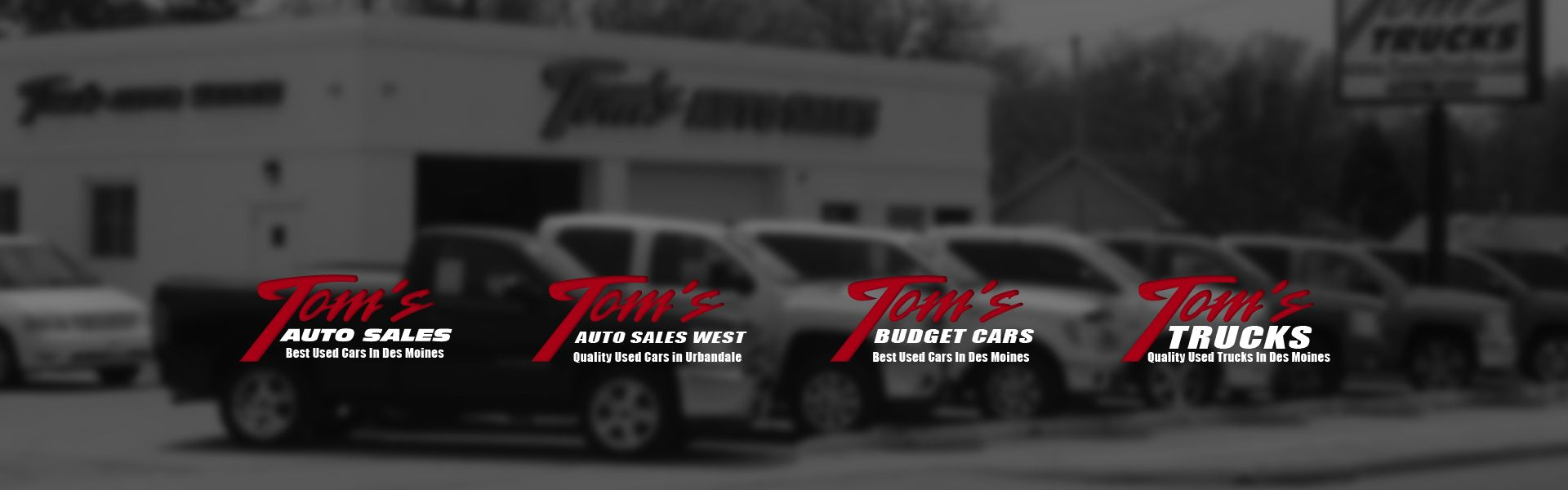 Used Car Dealerships In Des Moines >> Used Car Dealer In Des Moines Ia Tom S Auto Group